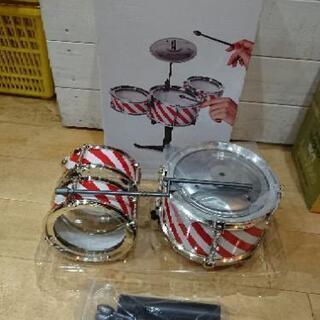 新品未使用★フライングタイガー ミニミニ 卓上 ドラムセット