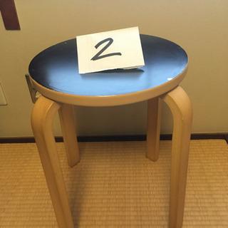 木製の椅子(2)