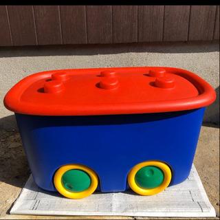 おもちゃ おもちゃ まとめ売り 収納ケース ブロック風 車輪 車...