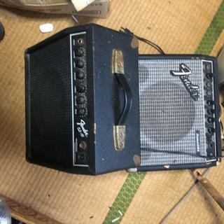 フェンダー ギターアンプ 2個