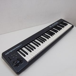 【美品】 M-AUDIO 61鍵盤 USB MIDIコントローラ...