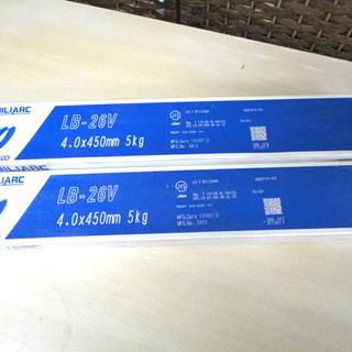 保管未使用品 神戸製鋼 コベルコ 溶接棒 LB-26V 4.0×...