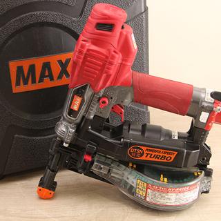 マックス MAX 高圧接続 ターボドライバ HV-R41G4 釘...