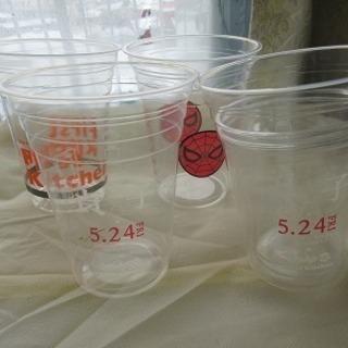 ビニールカップ×4種類