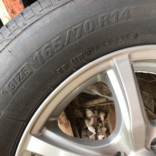 タイヤとホイールセット  ブリジストン