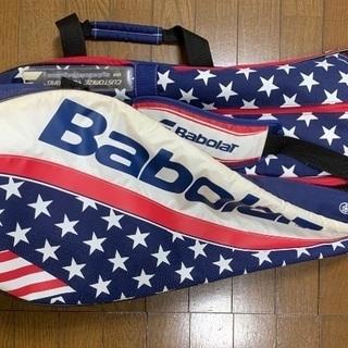 急募☆早い者勝ち☆レア☆貴重☆Babolat スター柄テニスバッ...