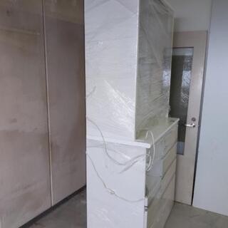 ニトリ食器棚 ホワイト - 京都市