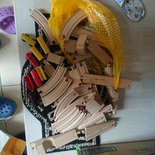 イケヤ 木製レールセット