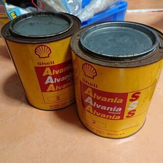シェル グリース 2.5kg 未使用 1缶980円