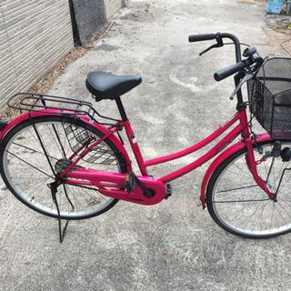 26インチ ピンク 中古自転車
