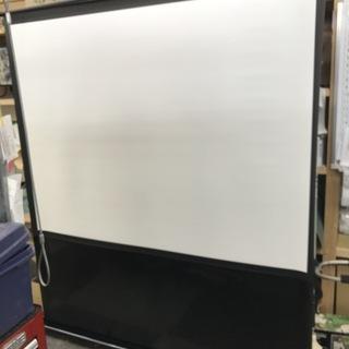 CASIO 自立式プロジェクタースクリーン 80インチ