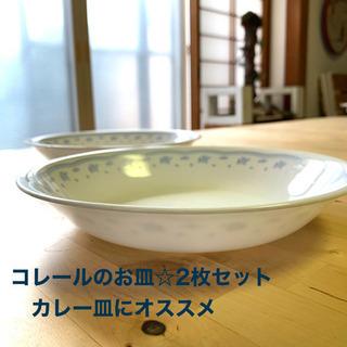 コレール☆カレー皿にオススメ / 2枚セット