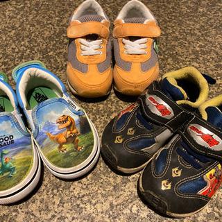 子供靴3足セット♡15㎝+おまけ
