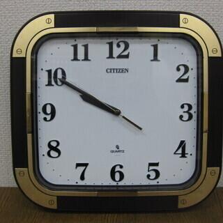 CITIZEN シチズン クォーツ 掛時計 QK8356-1 Q...