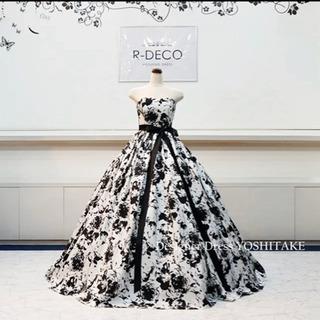 ウェディングドレス カラードレス結婚式 パニエ付き マタニティ