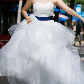 ウェディングドレス 結婚式 マタニティ ブライダル パニエ付き