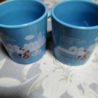 キティちゃんマグカップ2個
