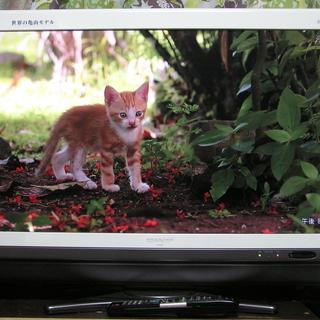 ◇取引終了 シャープ 32型テレビ ◎ブルーレイ・DVDの再生出...