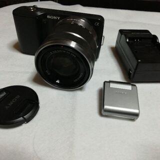 Sony ミラーレス一眼カメラ Nex3
