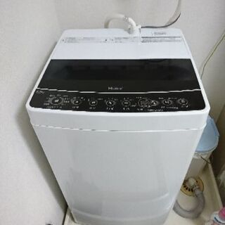 美品☆2019年製 JW-C55D-K 全自動洗濯機 Joy S...