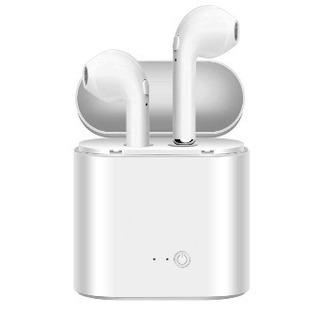 Bluetoothイヤホン ワイヤレス 高音質 通話可 充電式収納ケース 軽量の画像