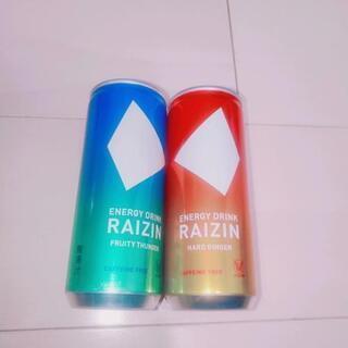 カフェインゼロ エナジードリンク RAIZIN ライジン - 食品