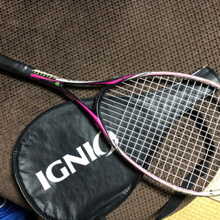 【中古】IGNIO 軟式テニスラケット ①