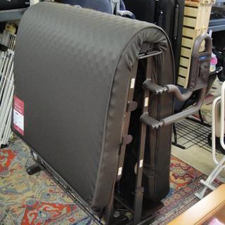 ATEX アテックス 収納式電動リクライニングベッド Wファンク...