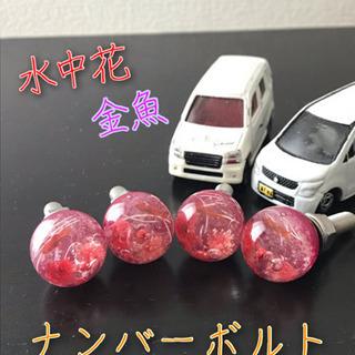 ★☆ナンバーボルト 4本(2本対応可)☆★