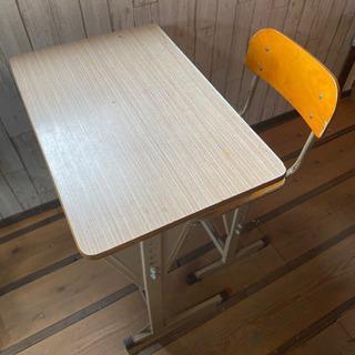 学校机椅子のセット