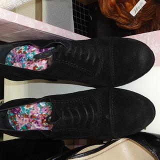 新品cocue 靴 花柄インソール 3000円を今なら1500円