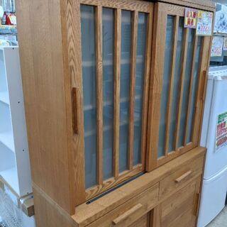 【おすすめ品】参考定価¥250,000 府中家具 食器棚 カップ...