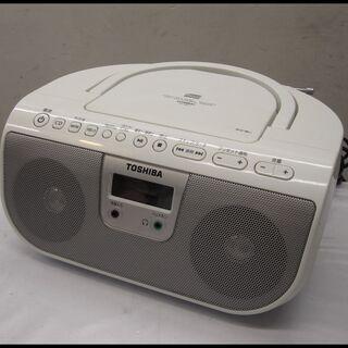 新生活!2200円 東芝 CDラジオ TY-CR11 ホワイト ...