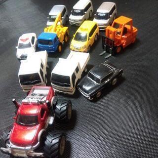 プルバックカー色々 11台セット