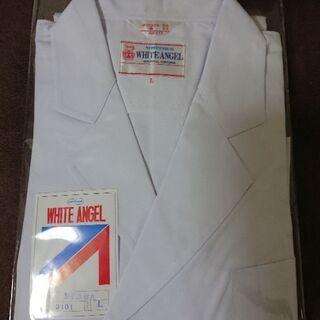 白衣 ドクターコート男性用Lサイズ1着{ユニチカ製、又はモンブラン製}