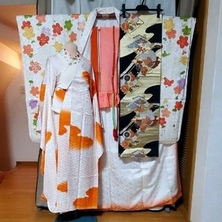 振袖d、長襦袢、袋帯、小物 7点セット - 服/ファッション