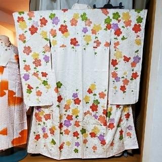振袖d、長襦袢、袋帯、小物 7点セット − 京都府