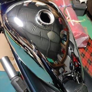 ロードスター風、モンキー用メッキタンク