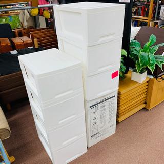 🌸新生活応援🌸新品!デコニー プラスチック収納BOX ホワイト