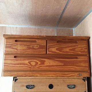 収納 タンス 箪笥 小型 台 テレビ チェスト 食器棚 木製 収...