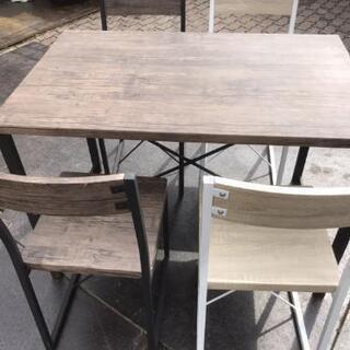 カフェテーブル*キッチンテーブル