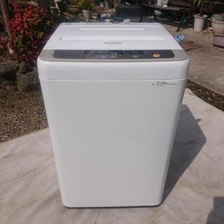 美品 2015年製 Panasonic 洗濯機 6.0㌔