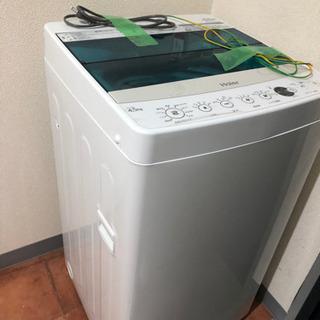 洗濯機 Haierの4.5kg JW-C45A