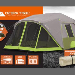 新品未使用 オザークトレイル ワンタッチキャンプテント