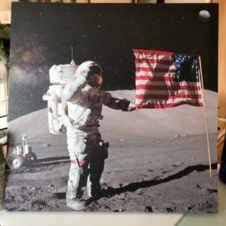 宇宙飛行士のポスター?