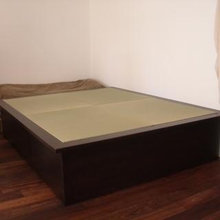 畳ベッドor小上がり (クイーンサイズ・収納付き) 飛騨フォレスト