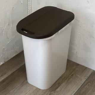 連結できるゴミ箱 ブラウン
