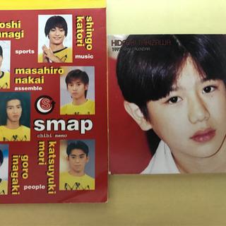 SMAP メモ帳とタッキー 1997年卓上カレンダー