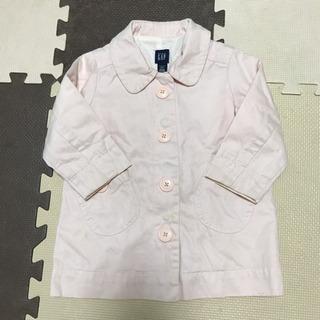 GAP baby ピンク ピーコート アウター ジャケット 95...