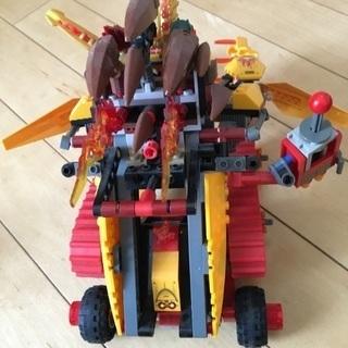 レゴチーマ ラバルのファイヤーライオン